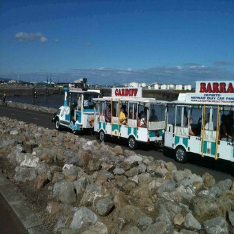 Cardiff Bay Road Train