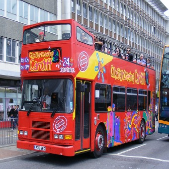 City Sightseeing Open Top Bus